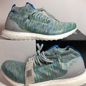 Adidas UltraBoost Mid Grey Multicolor RunningShoes